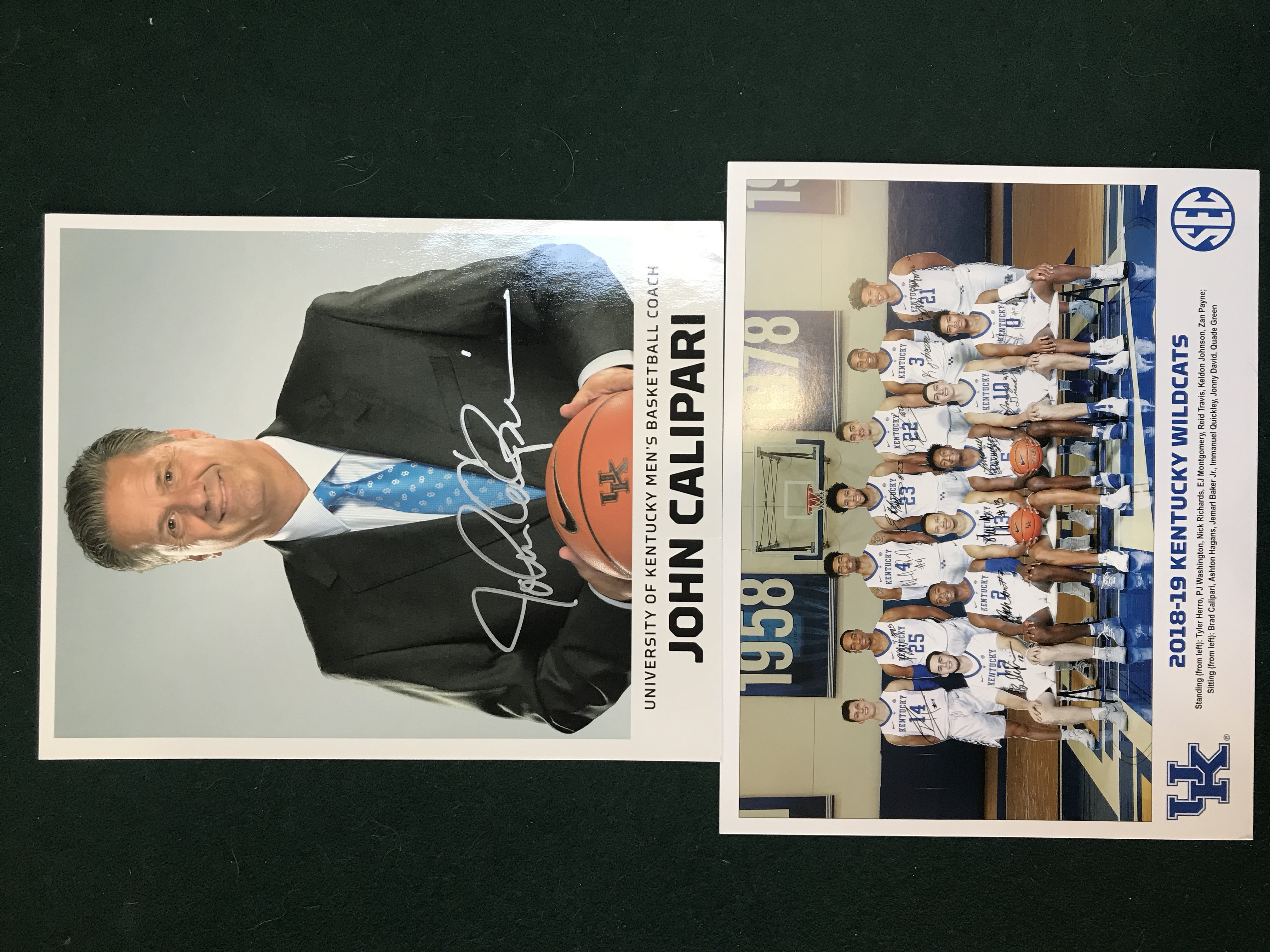 John Calipari Autographed Photo