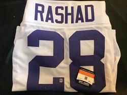Ahmad Rashad Autographed Jersey (w/COA)
