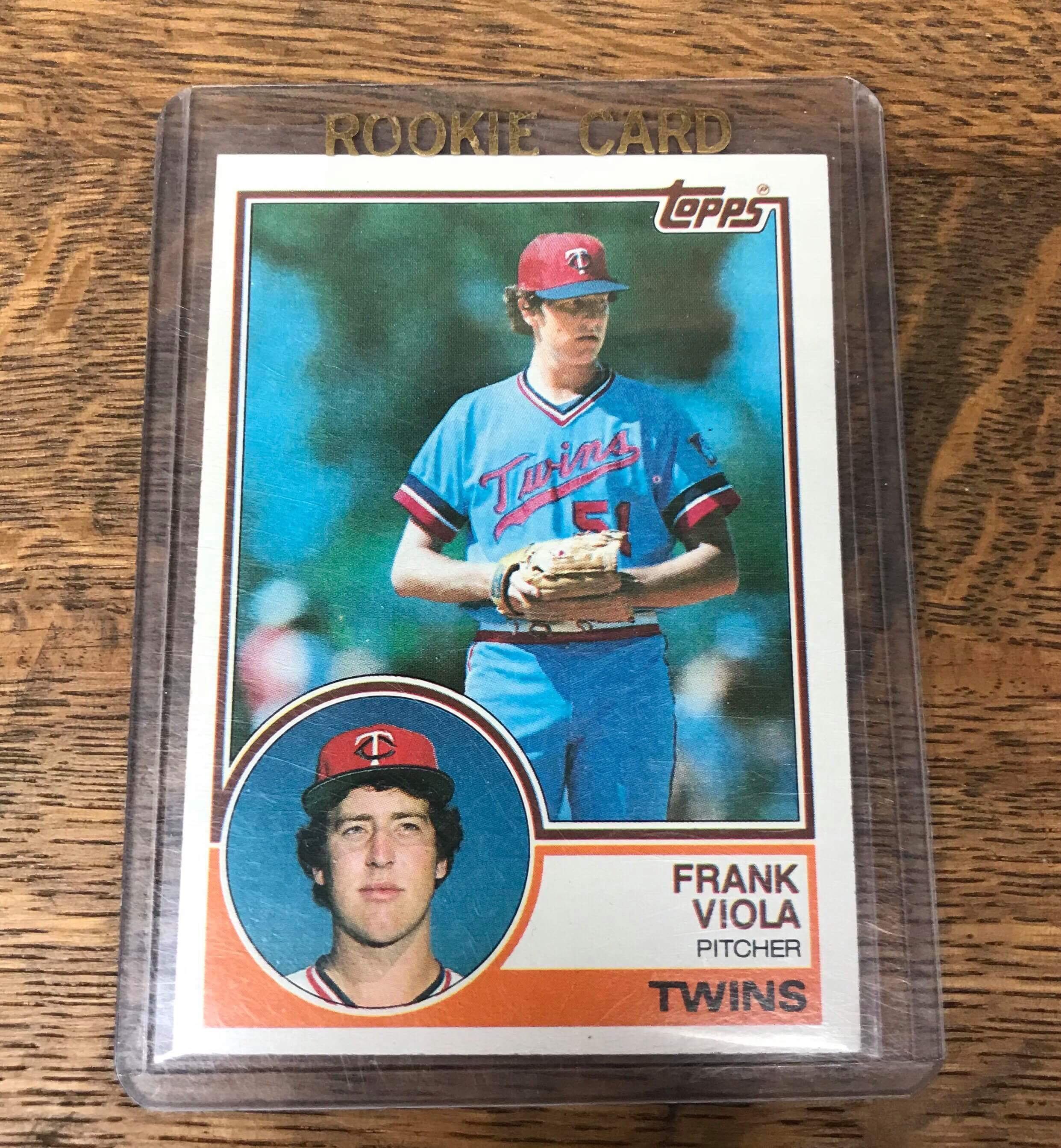Frank Viola Rookie Card