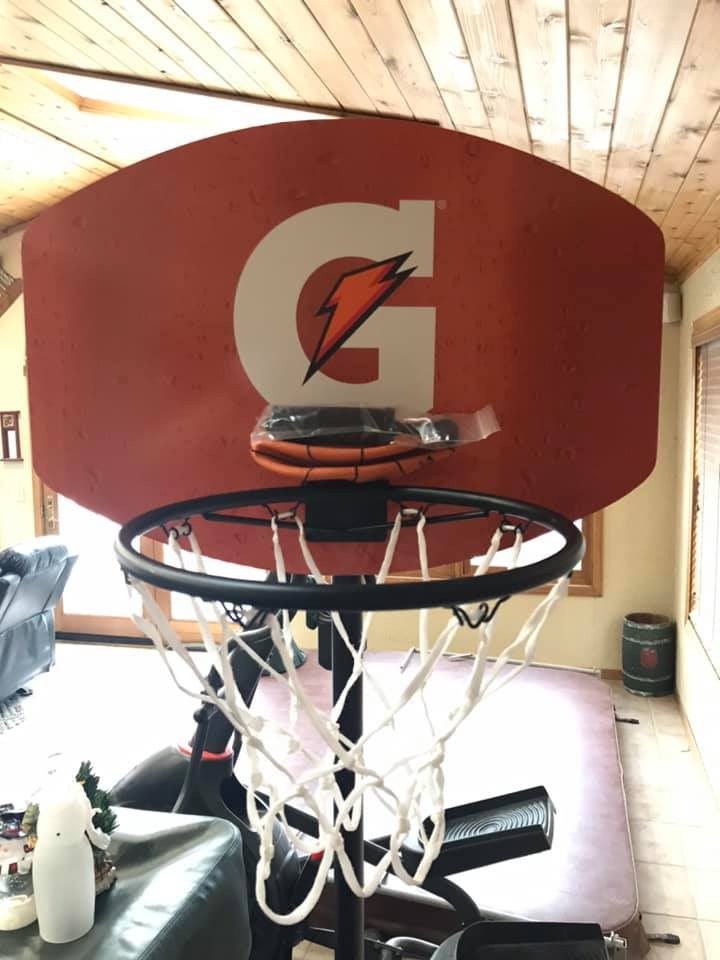 5.5' Gatorade Hoop with Ball and Pump