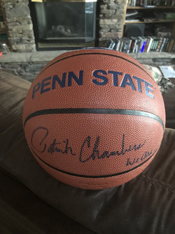 "Coach Chambers Autographed ""We Are..."" Penn State Basketball"