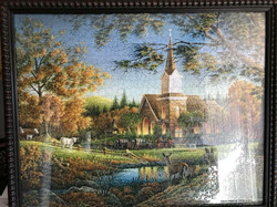 Terry Redlin Framed Puzzle
