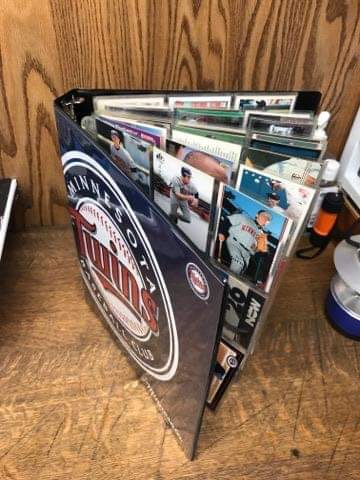 Binder of 99 Twins Cards