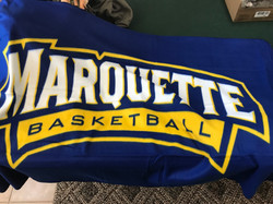 Marquette B-Ball Children's Blanket