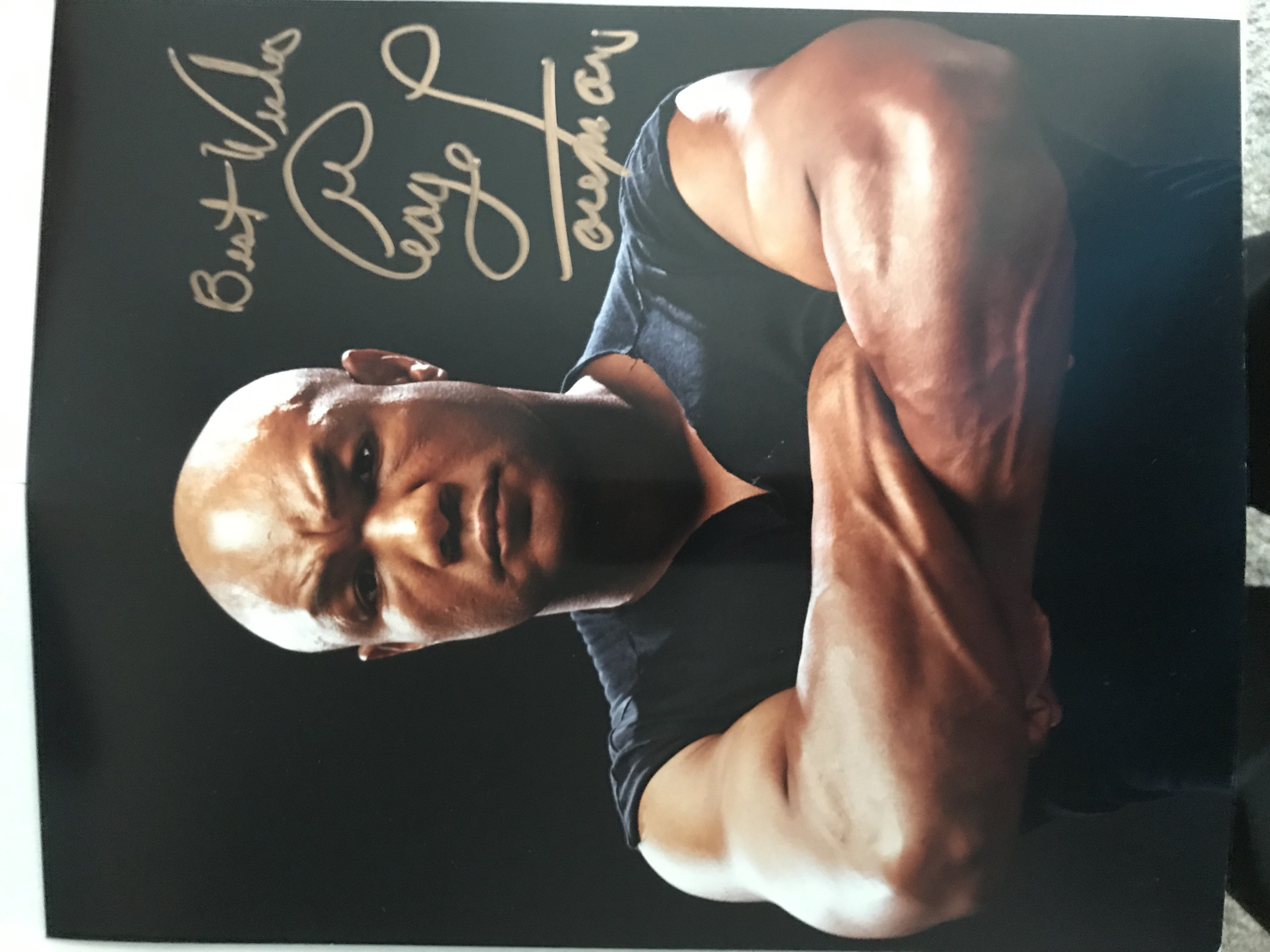 George Foreman Autographed Photo