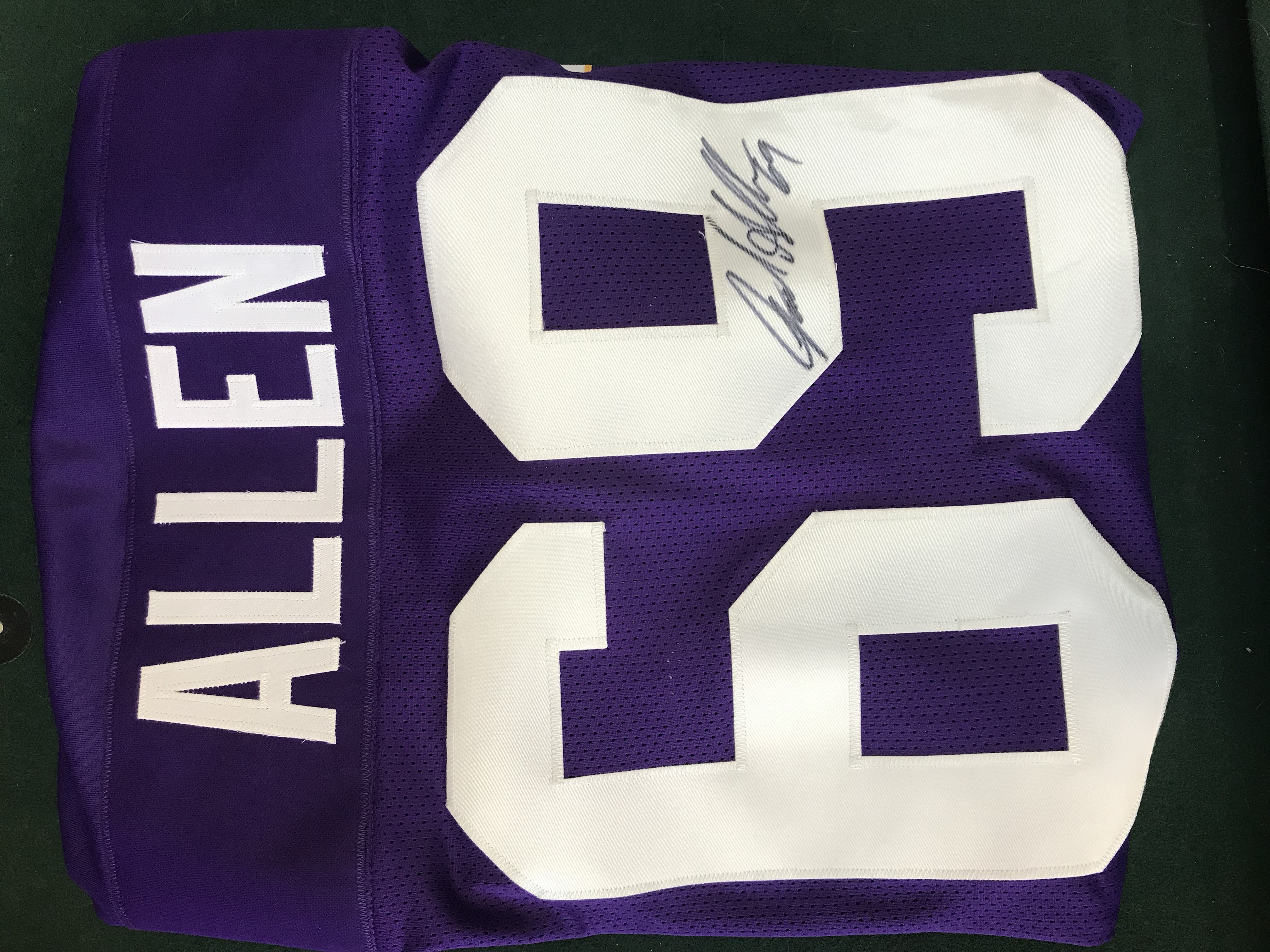 Jared Allen Autographed Jersey
