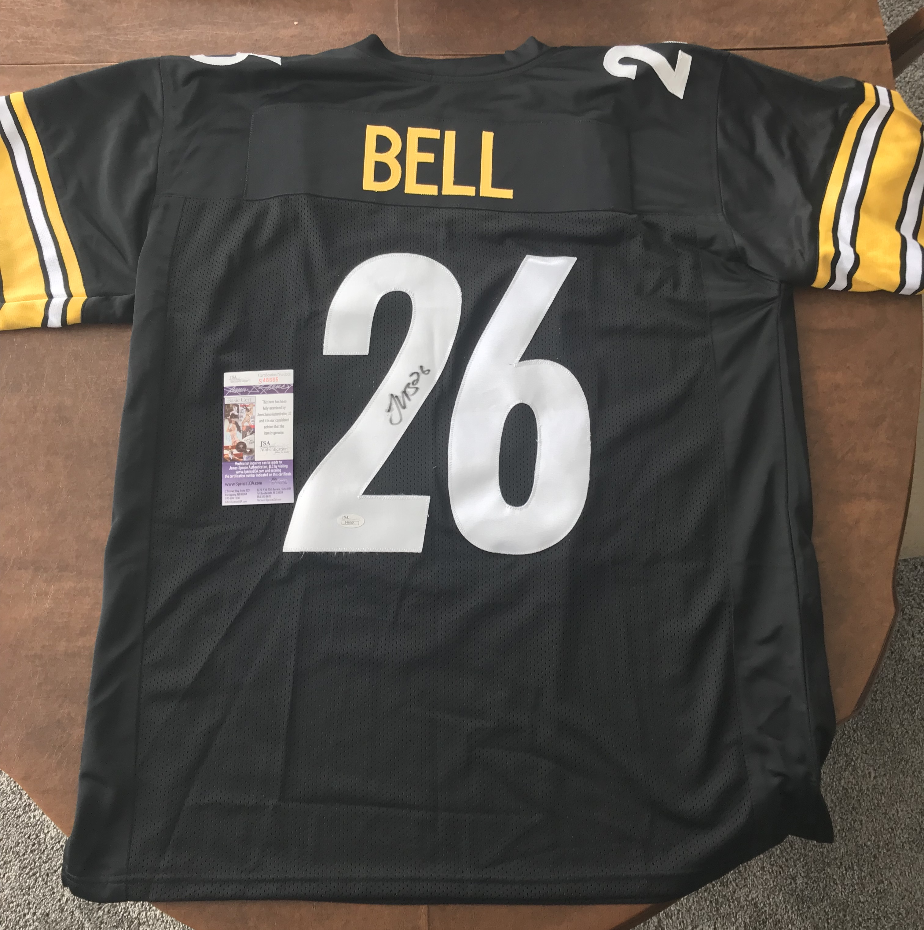 Le'veon Bell Steelers Jersey