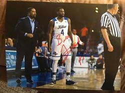 Tulsa MBB Coach Frank Haith Autographed 8x10