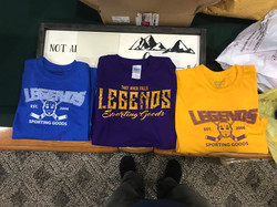 Legends T-Shirts and Long Sleeve