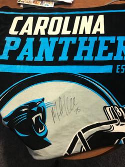 Matt Kalil Panthers Blanket