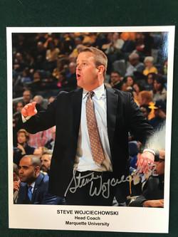 Steve Wojciechowski Autograph Photo