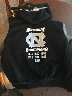 North Carolina Champions Coat