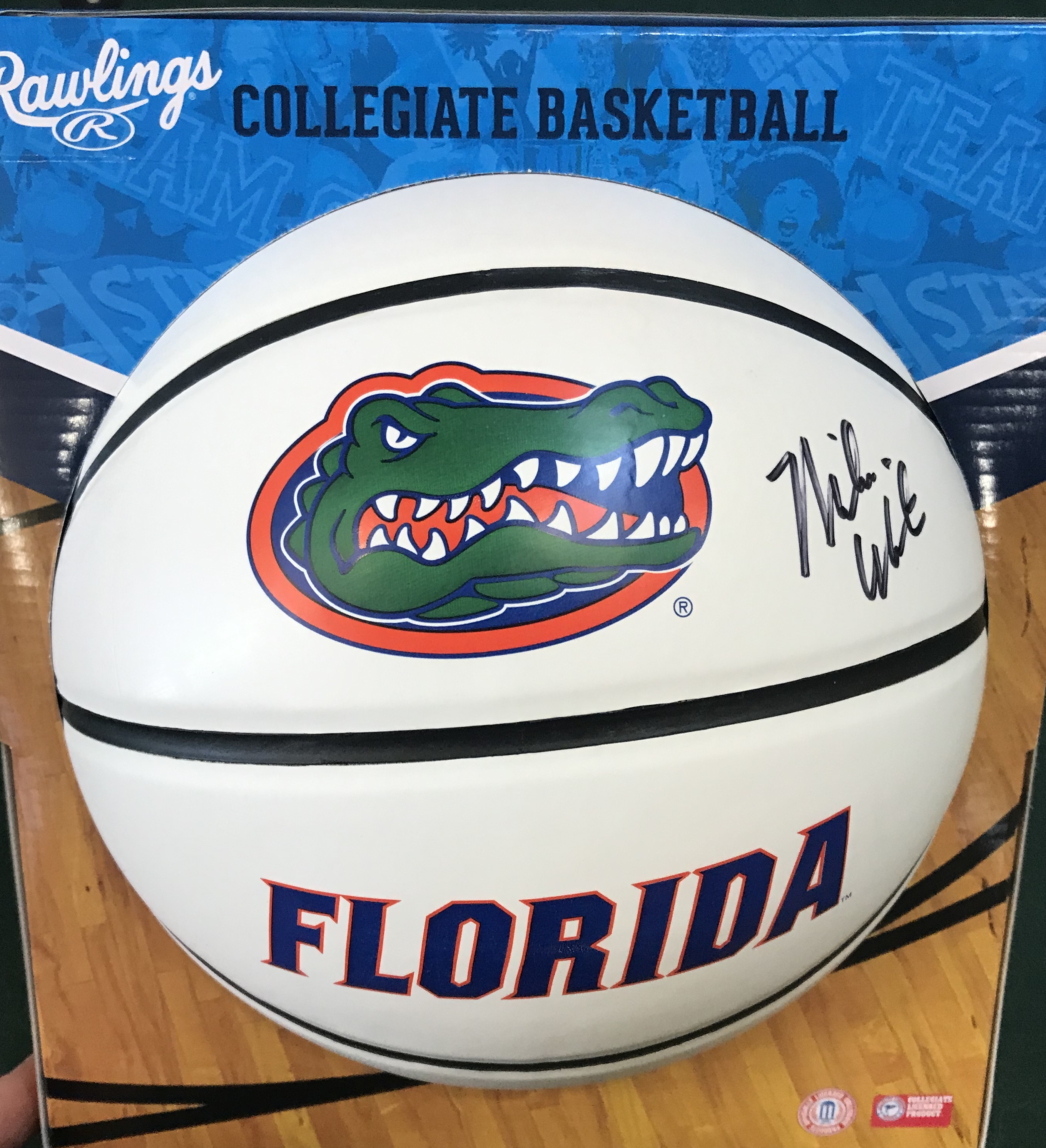 Mike White Autographed Basketball