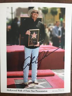 Alan Jackson Autographed Photo