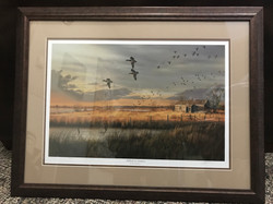 Mallards at Sundown - James Hautman