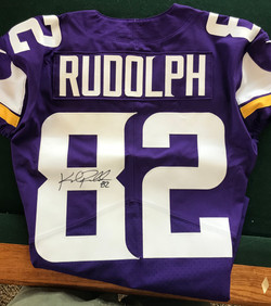 Kyle Rudolph Autographed Jersey
