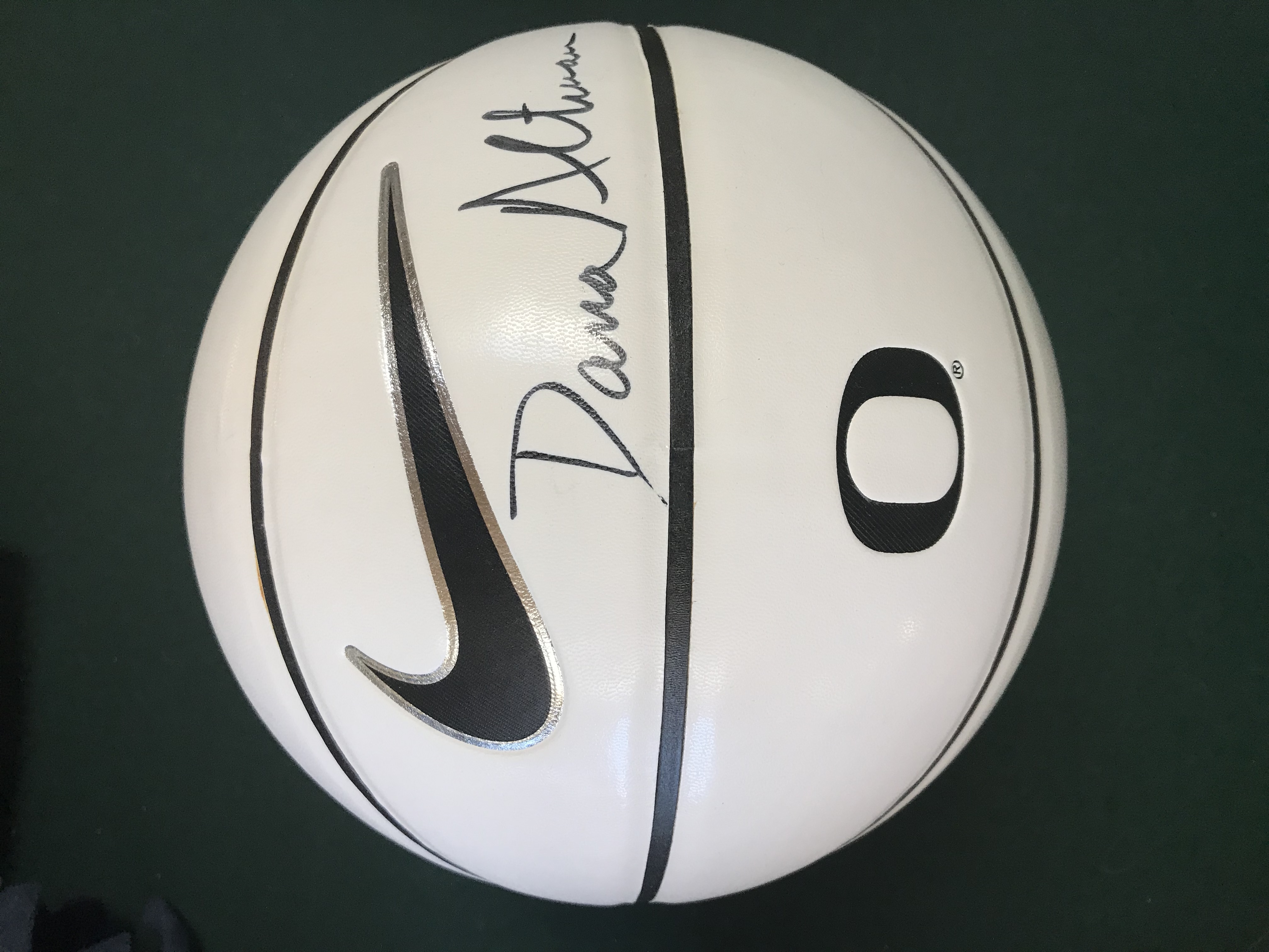 Dana Altman Autographed B-Ball