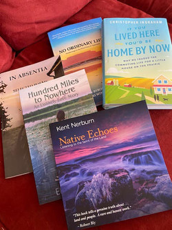 "Northwest Minnesota Authors Summer Reading Basket  Signed ""If You Lived Here You'd Be Home By Now"" b"