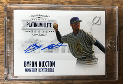 Byron Buxton autographed Rookie Card donated by Justin Skjerven