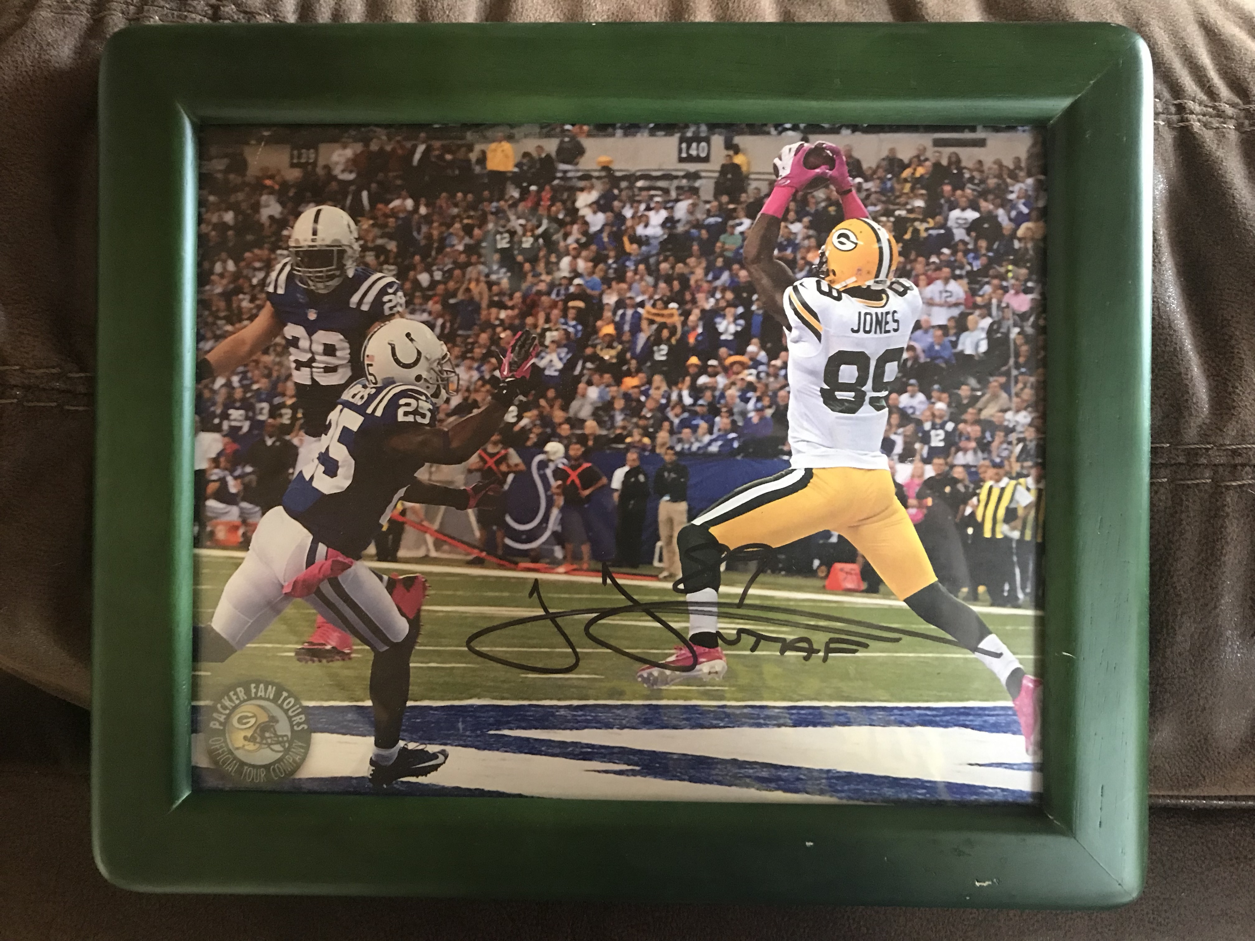 James Jones Autographed Photo