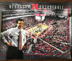 Tim Miles Nebraska Poster