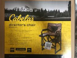(2) Cabelas Magnum Directors Chair