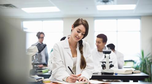 Science Lab Student