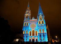 Chartres_en_Lumières_Portail_Royal_la_Ca