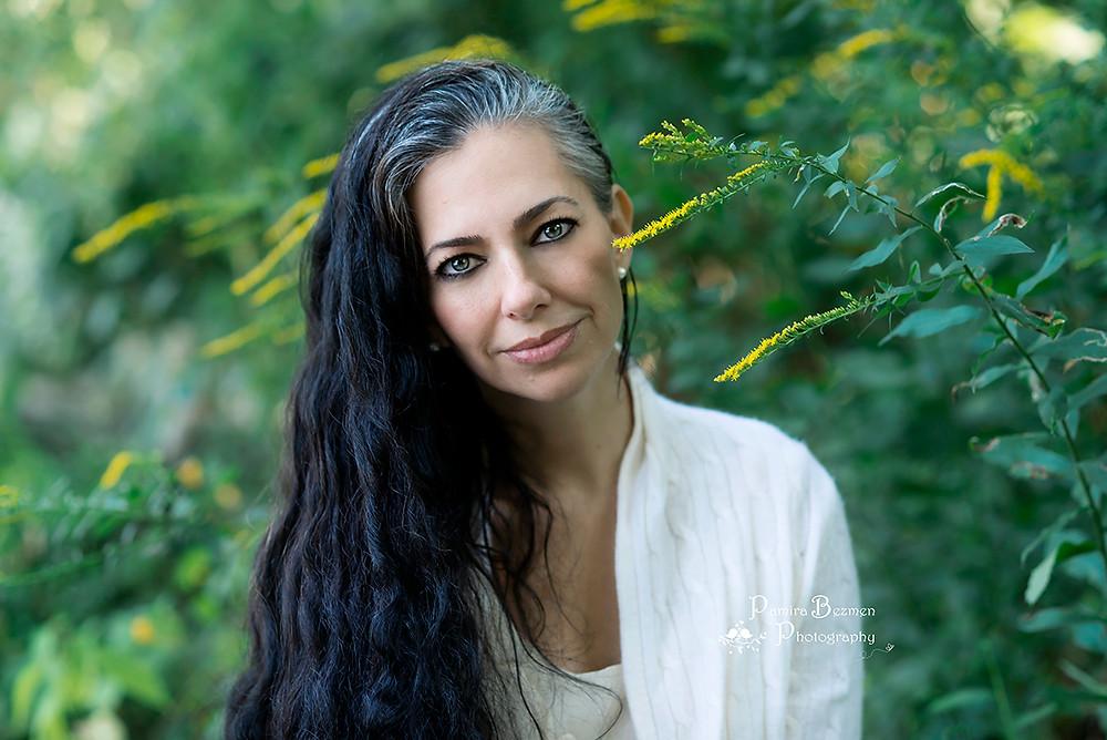 Pamira Bezmen, daughter of Nermin Bezmen and publishing manager of Kurt Seyt & Shura the English novel. Award winning photographer and owner of Pamira Bezmen Photography Studio.