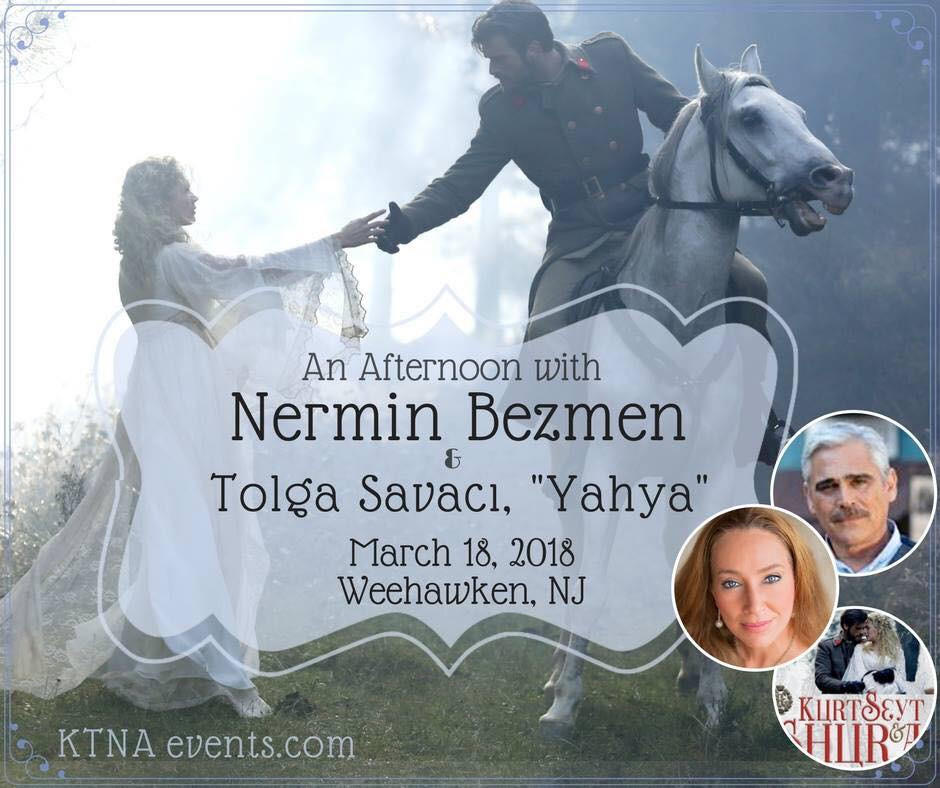 Book signing event with Kurt Seyt & Shura author Nermin Bezmen and actor Tolga Savaci