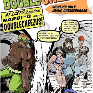 Double Cheezus meats Barbi-