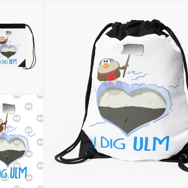 I Dig Ulm - Spatz T-Shirt