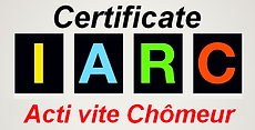 Certificat de l'application Acti vite Chômeur
