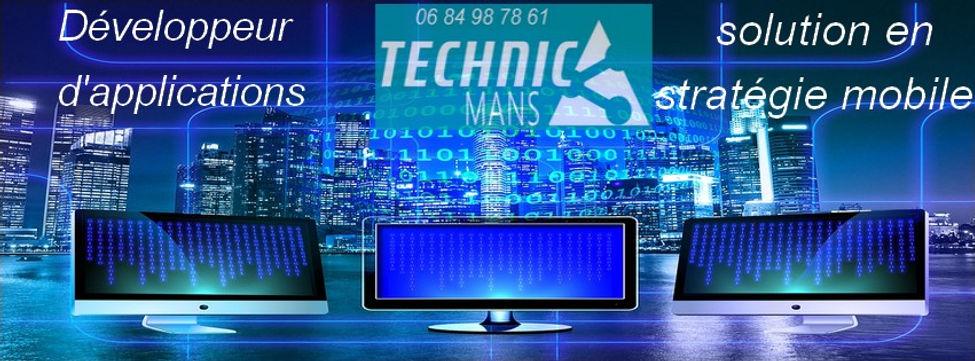 Technic'Mans solution en stratégie mobile et création d'applications