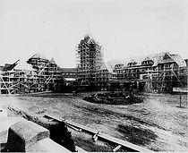 Forest Hills Inn Under Construction ca. 1911