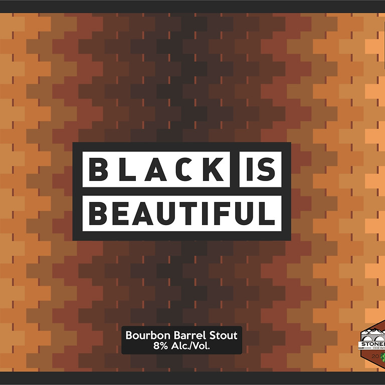 Bourbon Barrel Black is Beautiful Can Release