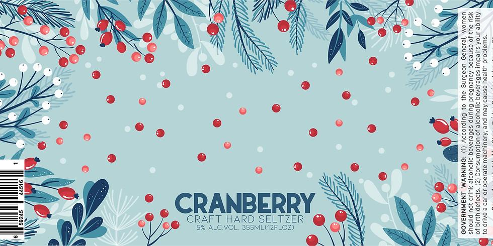 Cranberry Craft Hard Seltzer Release