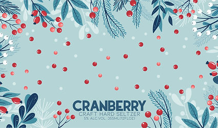 Cranberry Craft Seltzer