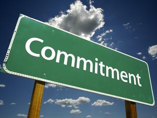 GOALS VS. COMMITMENT