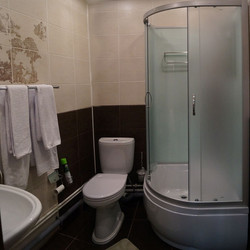 Люкс 2 этаж, ванная комната