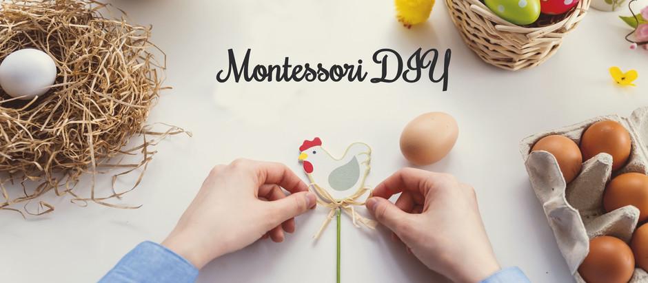 Wielkanocne jajeczka - Montessori DIY