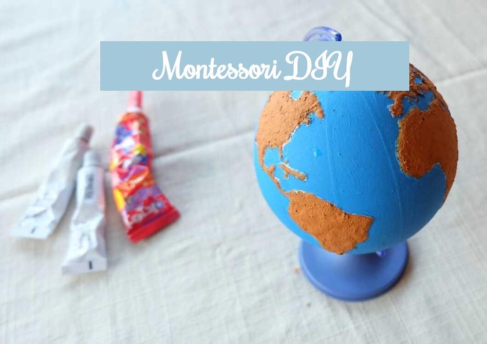 Montessori Szorstki Globus