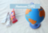 Szorstki globus Montessori