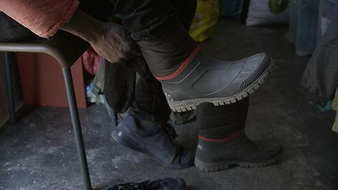 400 paires de bottes