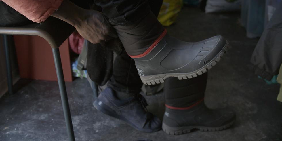 """Projection de """"400 paires de bottes"""" à Marly-le-Roi"""
