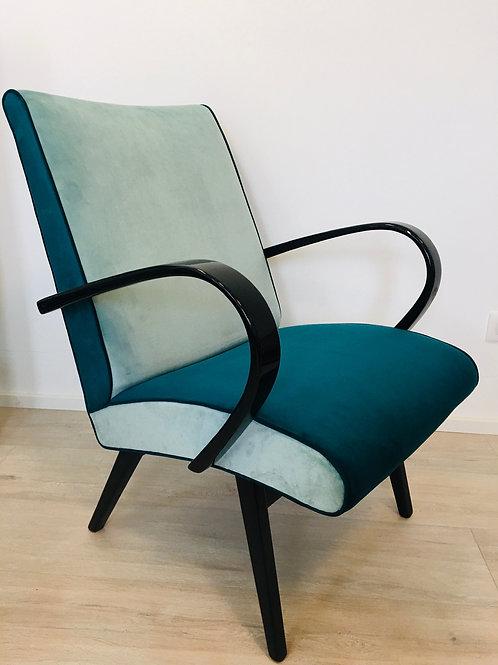 Blue Armchair by Jaroslav Smidek, 1960s
