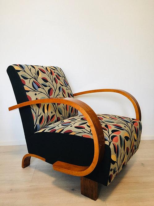 Czech Art Deco Armchair, 1930s