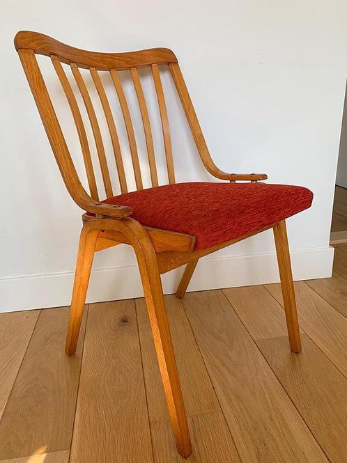 Chair by Ludvig Volak for Drevopodnik Holesov