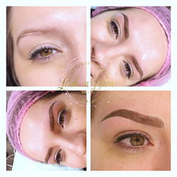 6D Microblading with Ombre' Shading
