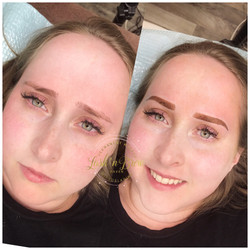Brows Transformation with Ombre'
